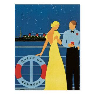 Furness ~ Queen of Bermuda Postcard