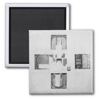 Furnishings for a small drawing room square magnet