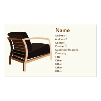 Furniture - Business Double-Sided Standard Business Cards (Pack Of 100)