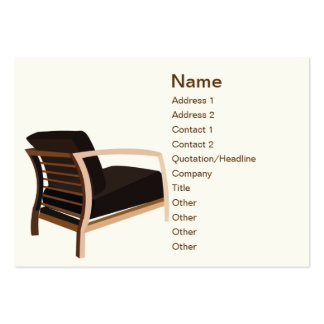 Furniture - Chubby Large Business Cards (Pack Of 100)