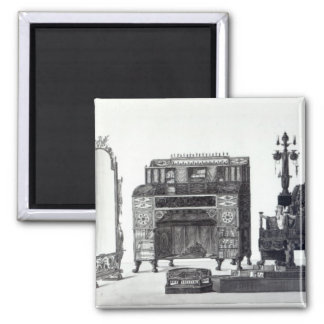 Furniture in the Grecian Style Square Magnet