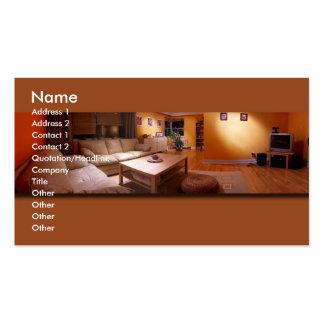 Furniture Interior Design Business Card Templates