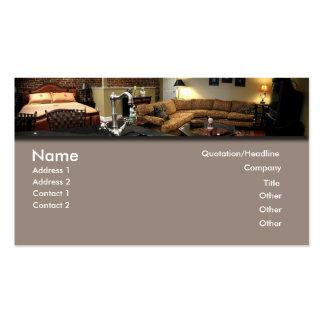 Furniture/Interior Design Pack Of Standard Business Cards