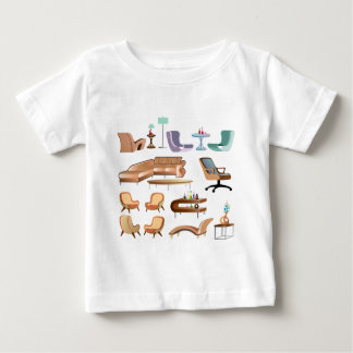 Furniture_Set_Collection Baby T-Shirt