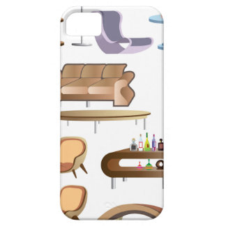 Furniture_Set_Collection Barely There iPhone 5 Case