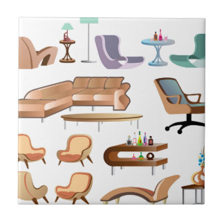 Furniture_Set_Collection Ceramic Tile