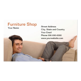 Furniture Shop Business Card Business Cards