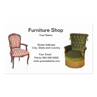 Furniture Shop Business Card Business Card Templates