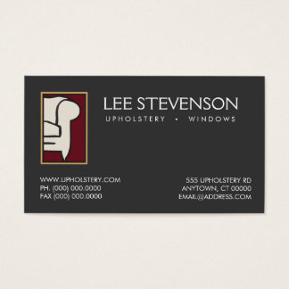 Furniture Upholsterer Business Card