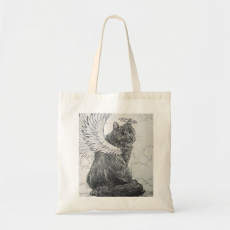 Furry Angel (Heavenly Feline) Tote Bag
