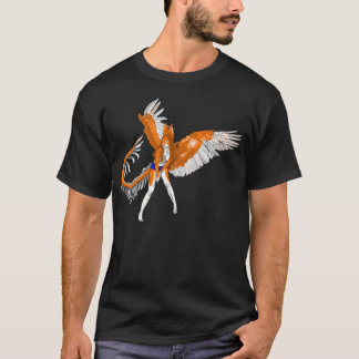 furry angel rabbit dragon bunny Anthro girl alien T-Shirt