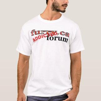 furry.ca forum addicted T-Shirt