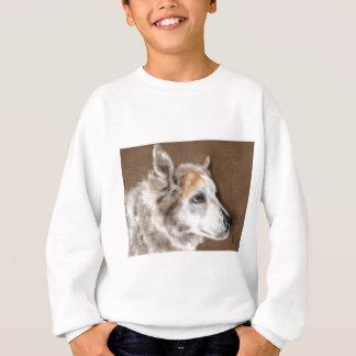 Furry dog sweatshirt