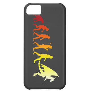 Furry evolution iPhone 5C case