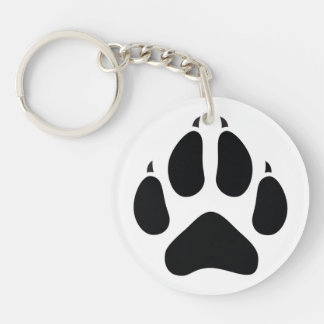 Furry Fandom Key Ring