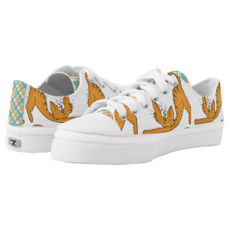 Furry Friends Cat Printed Shoes