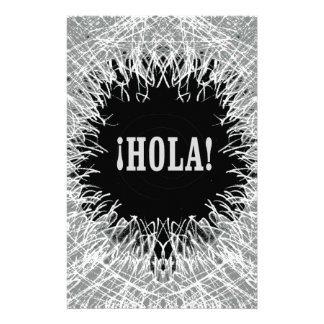 Furry Hola Customised Stationery