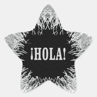 Furry Hola Star Sticker