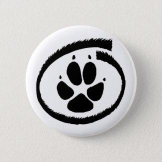 Furry Inside (Fox Paw) Badge