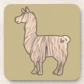 Furry Llama Coasters