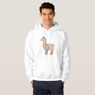 Furry Llama Hoodie