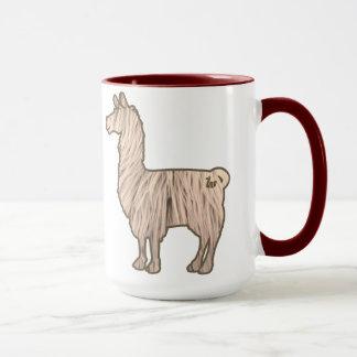 Furry Llama Mug
