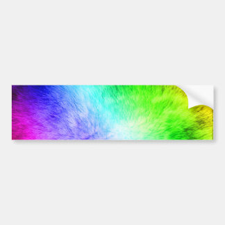 Furry Rainbow copy Bumper Sticker