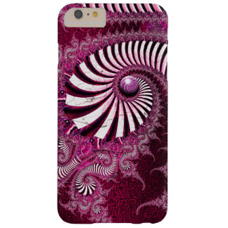 """""""Further Down"""" fractal art Barely There iPhone 6 Plus Case"""