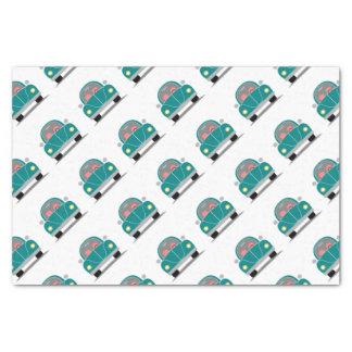 Fusca love tissue paper