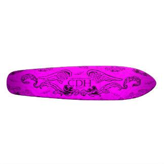 Fuschia CDH Wings Skateboard