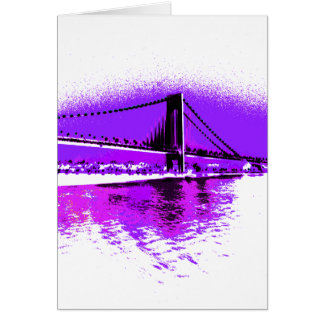 Fuschia Narrows Bridge card