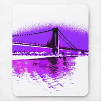 Fuschia Narrows Bridge mousepad