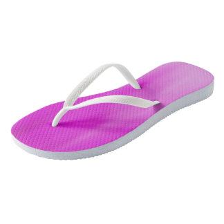 Fuschia Ombre Wave flip-flops Thongs
