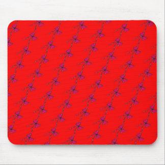 Fushia and Red Bows Mousepad