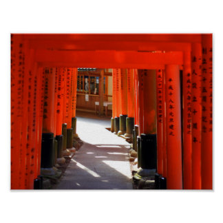 Fushimi Inari Taisha, Kyoto Attractions - Japan Poster