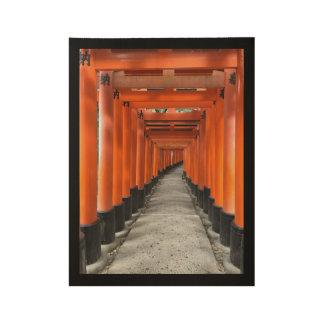 #FushimiInariTaishaShrine #Kyoto #Japan #Postcard Wood Poster