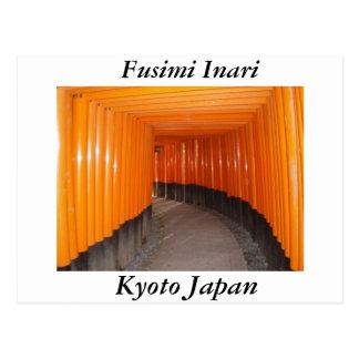 Fusimi Inari In Kyoto Japan Postcard