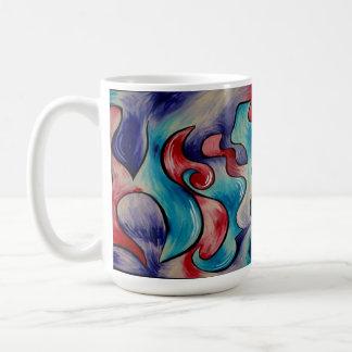 Fusion, Abstract Color Coffee Mug