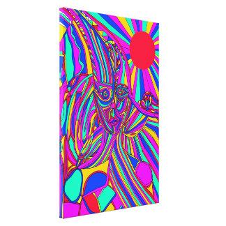 Fusion Canvas Print