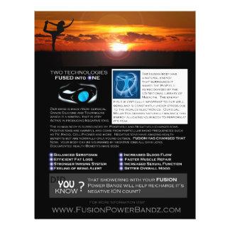 Fusion Flyer Option 3 - Black