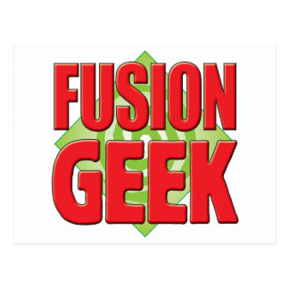 Fusion Geek v2 Post Cards