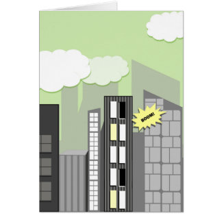Fusion Kids Super City Greeting Card