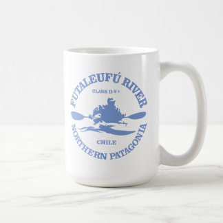 Futaleufu (kayak) coffee mug