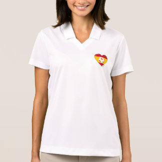 """FÚTBOL """"ESPAÑA"""" Spain Football Spanish Soccer Team Polo Camisetas"""