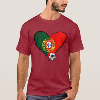 Futebol Brasil 2014 Portugal Brazil Copo do Mundo T-Shirt