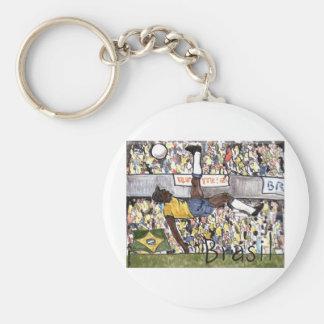 Futebol do Brasil Key Chains