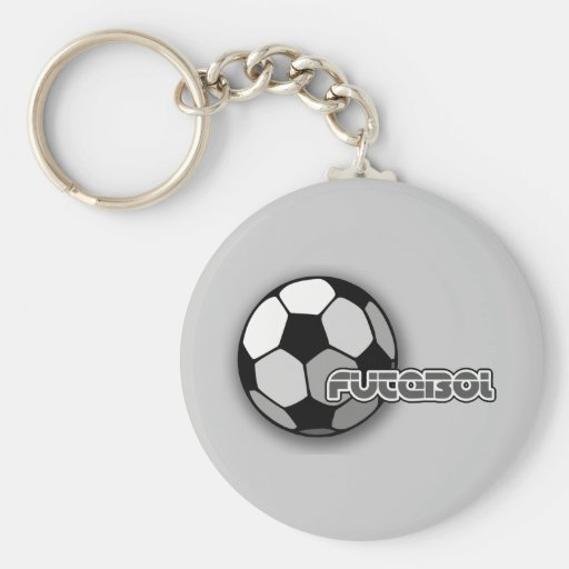 Futebol is Soccer and Soccer is Life Key Chains