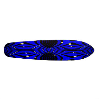 Futon Frame Fractal Art Skateboard