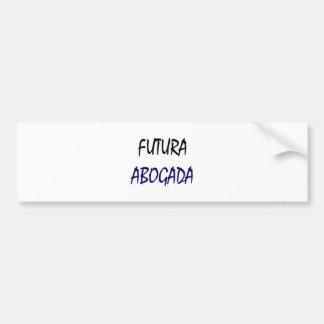 Futura Abogada Bumper Stickers
