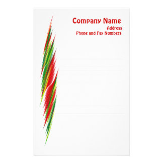 Futura Lined Notepaper Custom Stationery